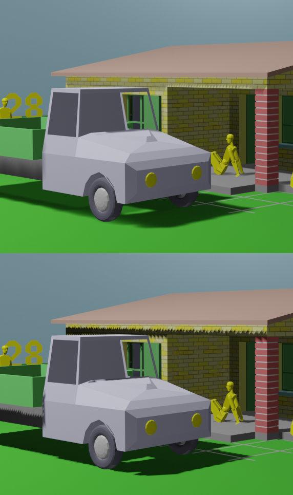 Gestion des ombres entre Blender 2.80 et 2.81